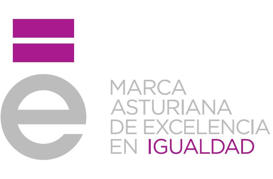 Logotipo Marca Asturiana de excelencia en Igualdad